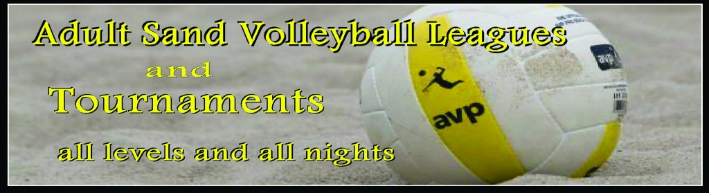 Adult Sand Volleyball Leagues