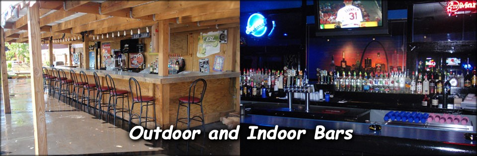 outdoor and indoor bars