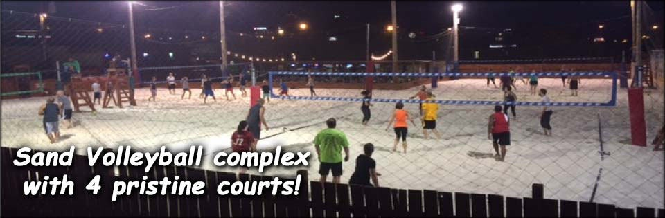 Bar 101 Volleyball Courts