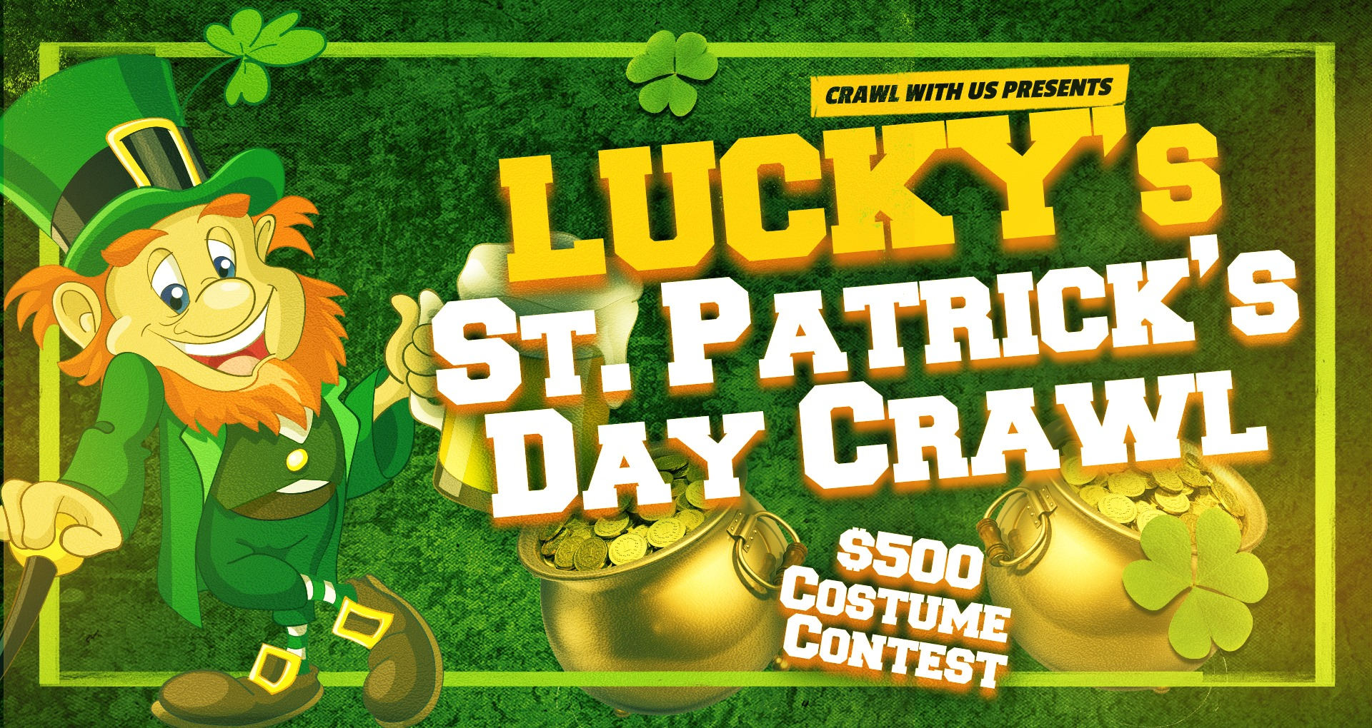 St Patrick's Day Bar Crawl