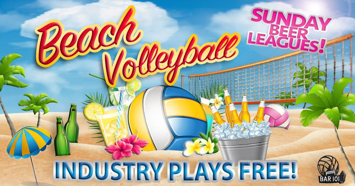 Beach Volleyball - industry plays free